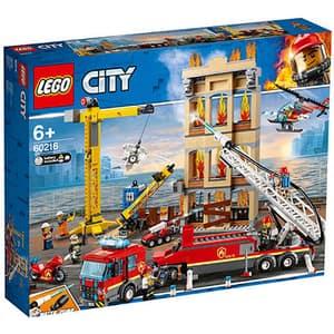LEGO City: Fire - Divizia pompierilor din centrul orasului 60216, 6 ani+, 943 piese