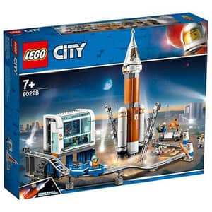 LEGO City: Space Port - Racheta pentru spatiul indepartat si centrul de comanda al lansarii 60228, 7 ani+, 837 piese