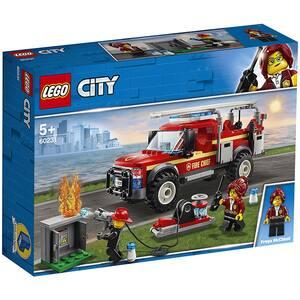 LEGO City: Camionul de interventie al pompierilor 60231, 5 ani+, 201 piese
