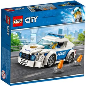 LEGO City: Masina de politie pentru patrulare 60239, 5 ani+, 92 piese