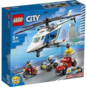 LEGO City: Urmarire cu elicopterul politiei 60243, 5 ani+, 212 piese