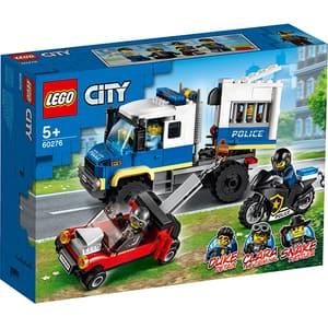 LEGO City: Transportul prizonierilor politiei 60276, 5 ani+, 244 piese