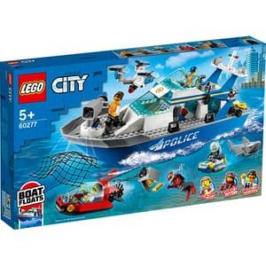 LEGO City: Nava de patrulare a politiei 60277, 5 ani+, 276 piese