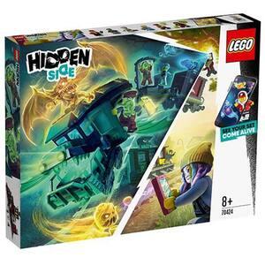 LEGO Hidden Side: Trenul expres al fantomelor 70424, 8 ani+, 697 piese
