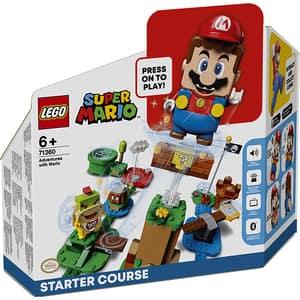 LEGO Mario: Aventurile lui Mario - set de baza 71360, 6 ani+, 231 piese