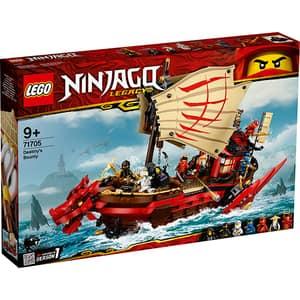 LEGO Ninjago: Destiny's Bounty 71705, 9 ani+, 1781 piese