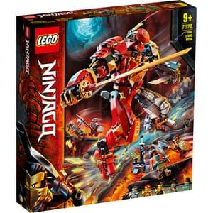 LEGO Ninjago: Robot Piatra de foc 71720, 9 ani+, 968 piese