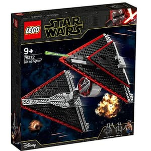 LEGO Star Wars: TIE Fighter Sith 75272, 9 ani+, 470 piese
