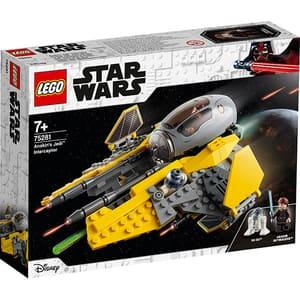 LEGO Star Wars: Interceptorul Jedi al lui Anakin 75281, 7 ani+, 248 piese
