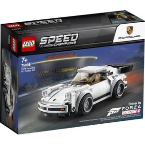 LEGO Speed Champions: 1974 Porsche 911 Turbo 3.0 75895, 7 ani+, 180 piese