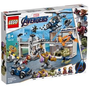 LEGO Super Heroes: Batalia combinata a Razbunatorilor 76131, 8 ani+, 699 piese