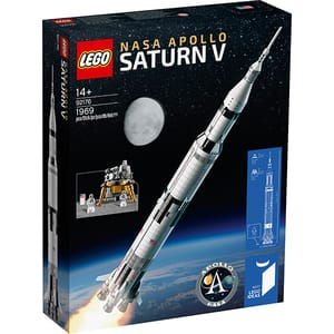 LEGO Ideas: NASA Apollo Saturn V 92176, 14 ani+, 1900 piese
