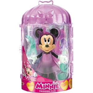 Figurina DISNEY Minnie Mouse cu accesorii fashion 182196, 3 ani+, multicolor