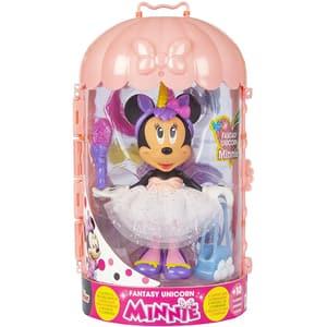 Figurina DISNEY Minnie Mouse cu accesorii - Fantasy unicorn 185746, 3 ani+, multicolor