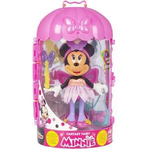 Figurina DISNEY Minnie Mouse cu accesorii - Fantasy fairy 185753, 3 ani+, multicolor