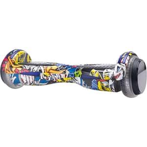 Hoverboard MYRIA Sky Rider Infinity X MY7038YG, 6.5 inch, grafitti