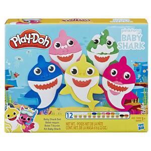 Set PLAY DOH Baby Shark E8141, 3 ani+, multicolor