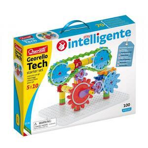 Joc constructie QUERCETTI Georello Tech Starter Q6136, 5 - 10 ani, 67 piese