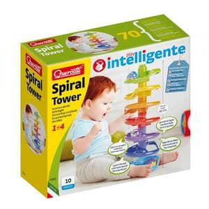 Jucarie interactiva QUERCETTI Turnul Spirala Q6501, 1-3 ani, multicolor