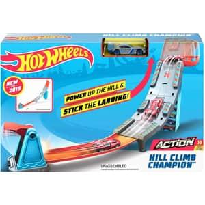 Set masinuta HOT WHEELS Hill Climb Champion MTGBF81_GBF83, 4 ani+, multicolor