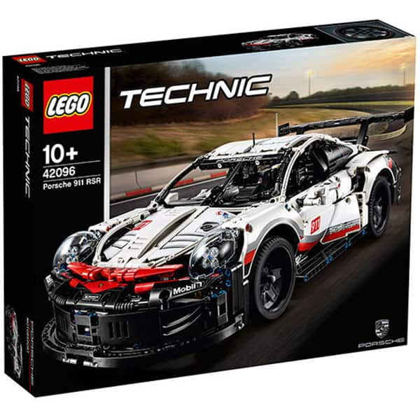 LEGO Technic: Porsche 911 RSR 42096, 10 ani+, 1580 piese