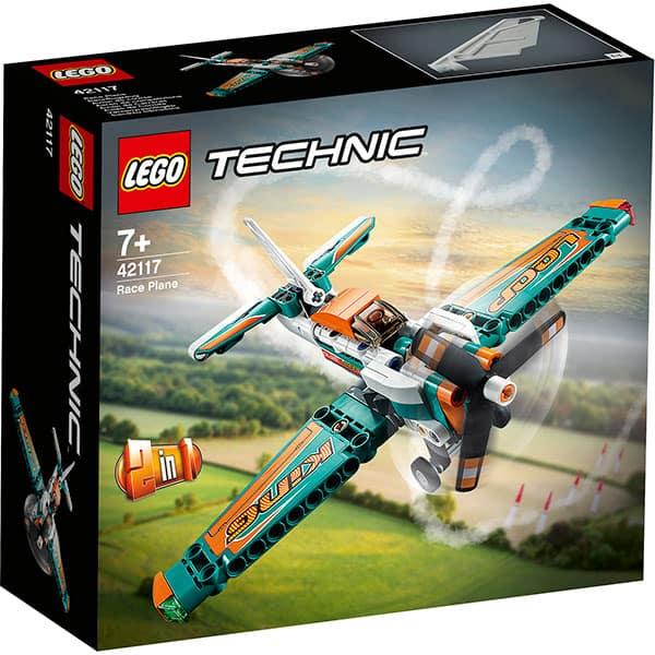 LEGO Technic: Avion de curse 42117, 7 ani+, 154 piese