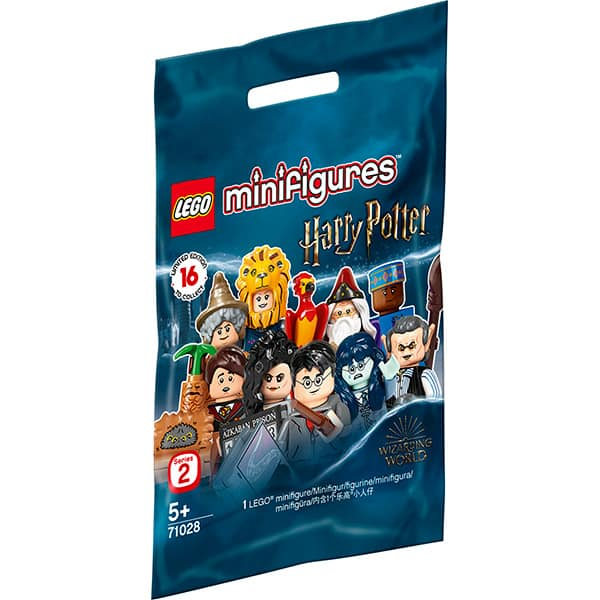 LEGO Minifigures: HarryPotterSeria 2 71028, 5 ani+, 8 piese