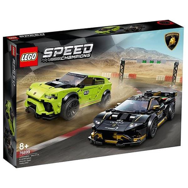 LEGO Speed Champions: Lamborghini 76899, 8 ani+, 663 piese