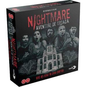 Joc de societate NORIS Nightmare aventuri de groaza 606101896028, 15 ani+, 2-5 jucatori