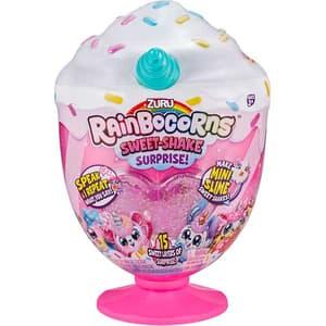 Jucarie de plus RAINBOCORNS Sweet-Shake Surprise ZR9212, 3 ani+, multicolor