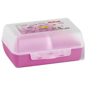 Caserola pentru copii compartimentata TEFAL Variabolo K3160214, 16.2x12cm, roz