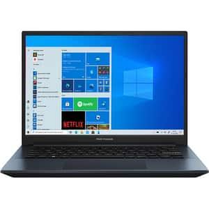 "Laptop ASUS Vivobook Pro 14 OLED K3400PH-KM019T, Intel Core i7-11370H pana la 4.8GHz, 14"" WQXGA+, 8GB, SSD 512GB, NVIDIA GeForce GTX 1650 4GB, Windows 10 Home, Quiet Blue"