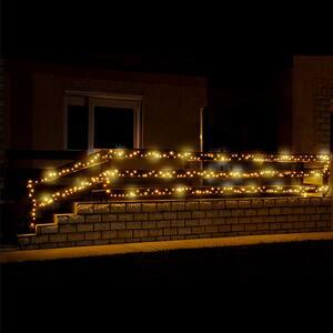 Ghirlanda luminoasa HOME KKL200F/WW, 200 led-uri, 20m