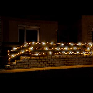 Ghirlanda luminoasa HOME KKL500F/WH, 500 led-uri, 5m