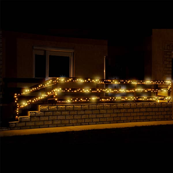 Ghirlanda luminoasa HOME KKL500F/WW, 500 led-uri, 5m