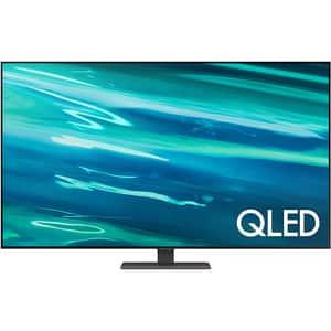 Televizor QLED Smart SAMSUNG 55Q80A, Ultra HD 4K, HDR, 138 cm