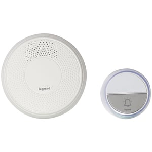 Sonerie wireless LEGRAND Comfort, 100m, alb