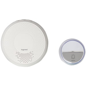 Sonerie wireless LEGRAND Comfort, 230V, 100m, alb
