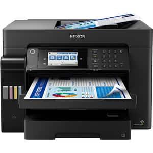 Multifunctional inkjet color EPSON EcoTank L15160 CISS, A3+, USB, Wi-Fi, Retea, Fax