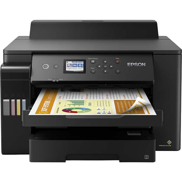 Imprimanta inkjet color EPSON EcoTank L11160 CISS, A3+, USB, Retea, Wi-Fi