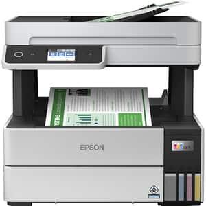 Multifunctional inkjet color EPSON EcoTank L6460 CISS, A4, USB, Wi-Fi, Retea