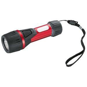 Lanterna LED HAMA Solid 1, 75 lumeni, rosu