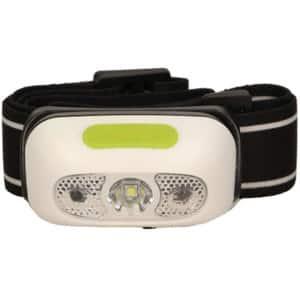 Lanterna LED frontala ORNO LT-1, 230 lumeni, Acumulator 1200mAh, alb-verde