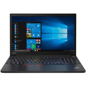 "Laptop LENOVO ThinkPad E15, Intel Core i7-10510U pana la 4.9GHz, 15.6"" Full HD, 16GB, SSD 512GB, Intel UHD Graphics, Windows 10 Pro, negru"