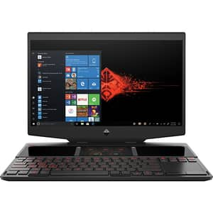 "Laptop Gaming HP Omen 2S 15-dg0007nq, Intel Core i7-9750H pana la 4.5GHz, 15.6"" Full HD Touch, 16GB, SSD 2x512GB, NVIDIA GeForce RTX 2070 8GB, Windows 10 Home, negru"