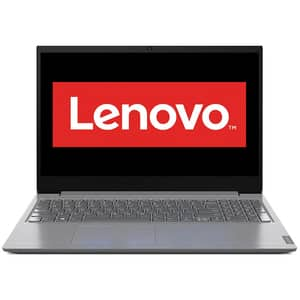 "Laptop LENOVO V15 IIL, Intel Core i7-1065G7 pana la 3.9GHz, 15.6"" Full HD, 12GB, SSD 512GB, Intel Iris Plus Graphics 620, Free DOS, gri"