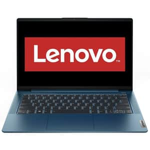 "Laptop LENOVO IdeaPad 5 14IIL05, Intel Core i5-1035G1 pana la 3.6GHz, 14"" Full HD, 8GB, SSD 512GB, Intel UHD Graphics, Free DOS, Light Teal"