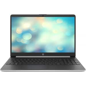 "Laptop HP 15s-fq1003nq, Intel Core i5-1035G1 pana la 3.6GHz, 15.6"" Full HD, 8GB, SSD 256GB, Intel UHD Graphics, Free Dos, argintiu"