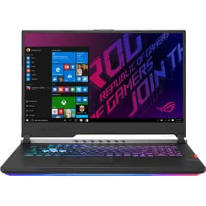 "Laptop Gaming ASUS ROG Scar G731GW-H6161T, Intel Core i7-9750H pana la 4.5GHz, 17.3"" Full HD, 16GB, SSD 1TB, NVIDIA GeForce RTX 2070 8GB, Windows 10 Home, Gunmetal"