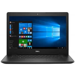 "Laptop DELL Vostro 3480, Intel Core i5-8265U pana la 3.9GHz, 14"" Full HD, 8GB, SSD 256GB, Intel UHD Graphics 620, Windows 10 Pro, negru"